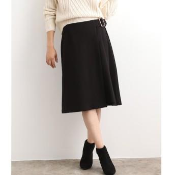 【ビス/ViS】 【EASY CARE】サイドプリーツフレアスカート