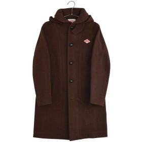 [DANTON] ウール モッサ 起毛 コート WOOL MOSSER #JD-8457WOM ジャケット レディース メンズ ユニセックス DARK BROWN 36サイズ