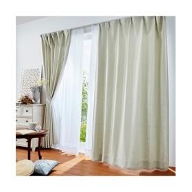 【送料無料!】光沢が美しいクラシック柄遮光カーテン&レースセット カーテン&レースセット, Curtains, 窗, 窗簾
