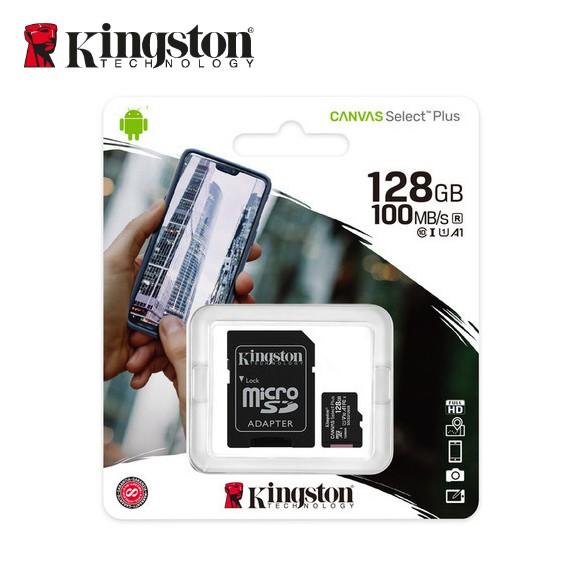 金士頓 Kingston CANVAS Select Plus microSDHC/XC A1 C10 最新版 記憶卡