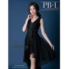 GLAMOROUS ドレス グラマラス キャバドレス ナイトドレス ワンピース andy ブランド andyドレス ブラック 黒 7号 S GMS-V435 クラブ スナ