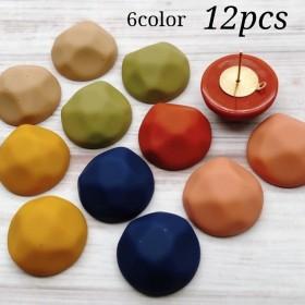 【cbtt3452acrc】【20㎜】【6color 12pct】rubber mat cabochon