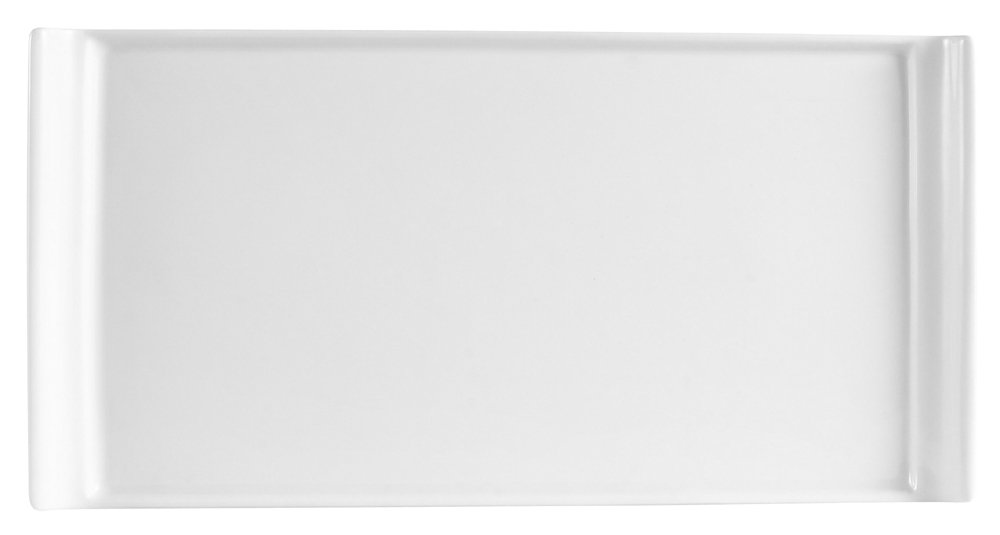 8 by 6 by 3-3//4-Inch 24-Pack CAC China R-HB8 Clinton 20-Ounce Super White Porcelain Rectangular Bowl