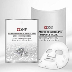 SNP ダイアモンドブライトニング アンプルマスク 10枚セット マスクシート マスクパック 韓国コスメ