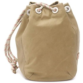 [ホーボー]hobo Waterproof Leather Drawstring Bag Small 巾着バッグ HB-BG3008 ベージュ/032