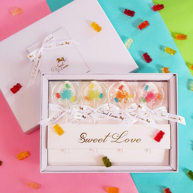 手工水晶糖禮盒-小熊軟糖(可加購提袋)
