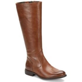 [ボーン] レディース ブーツ&レインブーツ North Leather Wide Calf Tall Block Heel [並行輸入品]
