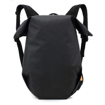 QTMIAO-Bags ユニセックス防水バックパックレジャー旅行バックパックコンピュータバックパック学生 (Color : Black)