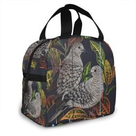 保冷バッグ エコバッグ ランチバッグ 買い物バッグ 花 鳥 手提げバッグ おしゃれ 保冷保温