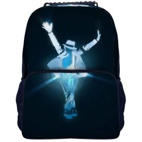 Michael Jackson マイケル・ジャクソン バックパック リュック 男女兼用 大容量 多機能 リュックサック 旅行 通勤 通学 PC収納 高耐久性