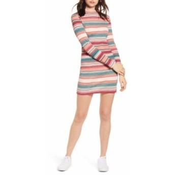 ロキシー ROXY レディース ワンピース ワンピース・ドレス smooth dreamer long sleeve stripe dress Canyon Clay