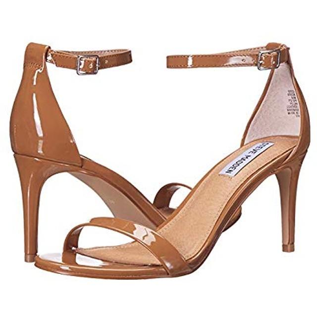 [スティーブマデン] レディースヒール・パンプス・靴 Exclusive - Stecia Heeled Sandal Camel Patent (25cm) M [並行輸入品]