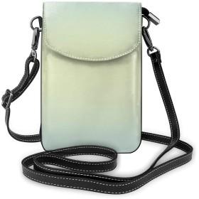 レディース い スマホポーチ 財布 携帯電話ポーチ ベージュ ショルダーバッグ 肩掛け 斜めがけ カジュアル 勤かばん 小さな ハンドバッグ ショルダーポーチ 大容量 IPhone6 7 8 対応 ミニバッグ