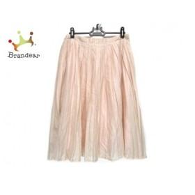 マーガレットハウエル MargaretHowell スカート サイズ2 M レディース ピンク プリーツ 新着 20191102