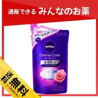 ニベア クリームケア ボディウォッシュ フレンチガーデンローズの香り 360mL (詰め替え用)