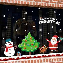 時尚壁貼-快樂聖誕節XL872