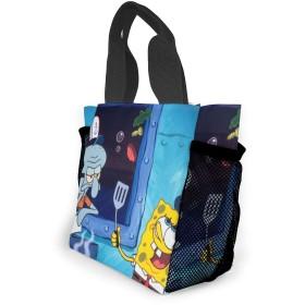 エコバック 買い物バッグ ランチバッグ スポンジボブ 手提げ バッグ ト おしゃれ