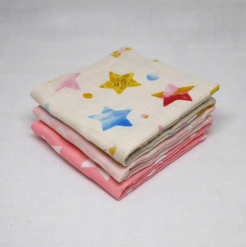 日本手工製作6層紗布迷你手帕/ 1件3件
