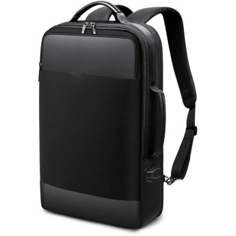 メンズバックパック大容量ビジネスバックパックは、15.6インチコンピューターバッグ盗難防止多機能旅行バッグを保持できます。-black