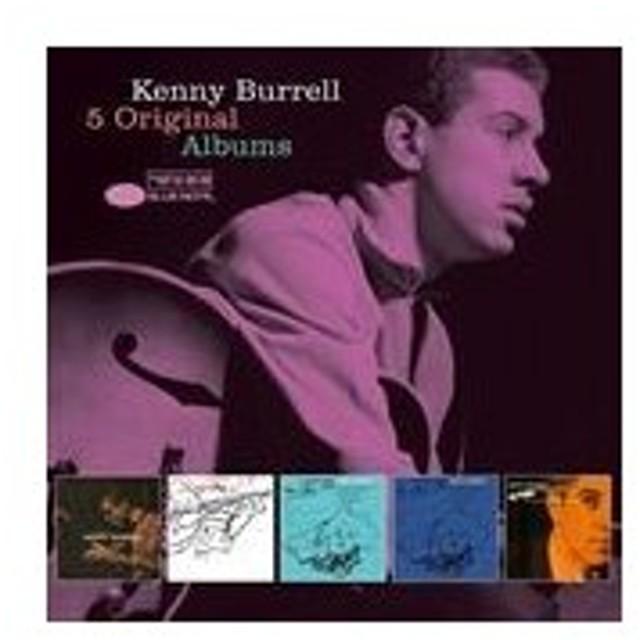5 ORIGINAL ALBUMS / KENNY BURRELL ケニー・バレル(輸入盤) (5CD) 0602557143485-JPT