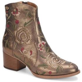 [ソフト] レディース ブーツ&レインブーツ Westmont Leather and Floral Embroidery B [並行輸入品]