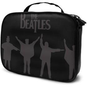 ビートルズ Beatles 20 化粧品収納メイクポーチ トラベルポーチ 化粧ポーチ ーバッグ バスルームポーチ 小物 多機能 収納 バッグインバッグ 大容量 出張 旅行グッズ