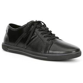 [ケネスコール] シューズ スニーカー Men's Initial Step Leather Sneaker Black メンズ [並行輸入品]