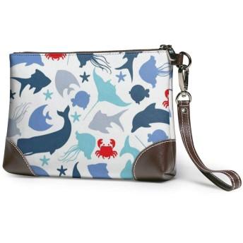 財布 レザークラッチ ボックス 軽量 防水 出張や旅行にを使用できます。