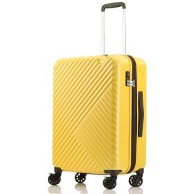 [SUNCO(サンコー)] スーツケース るるぶcarry(るるぶキャリー) 53L 56cm 3.7kg RRBZ-56 イエロー