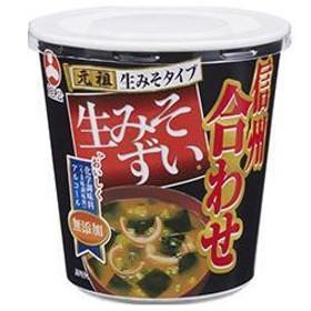 【送料無料】旭松食品 カップ旭松生みそずい 無添加合わせ 20.2g×6個入