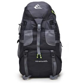 [FUPUTWO] バックパック 大容量 登山リュック リュックサック アウトドア 軽量 防災 トレッキング 多機能 防水 50L (ブラック)