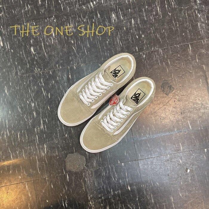 VANS Old Skool 灰色 米灰色 淺灰色 大地色 天鵝絨 經典款 基本款 帆布鞋 板鞋 VN0A4BV5TCH