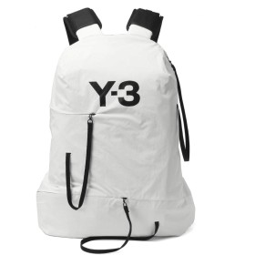 (ワイスリー) Y-3 バックパック BUNGEE ホワイト DY0539 [並行輸入品]