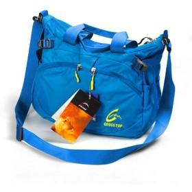 アウトドアバックパックアウトドアバッグメンズ多機能肩耐裂性メッセンジャーバッグ旅行バッグカジュアルバッグ女性青