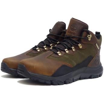 [ティンバーランド] a2468 ギャリソン フィールド ウォータープルーフ ミッド ハイキング ブーツ(ダークブラウン 9(27cm))