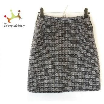アプワイザーリッシェ スカート サイズ0 XS レディース 美品 ネイビー×白×ピンク   スペシャル特価 20200215