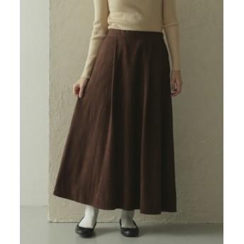 ITEMS(アイテムズ) スカート スカート フェイクスエードスカート