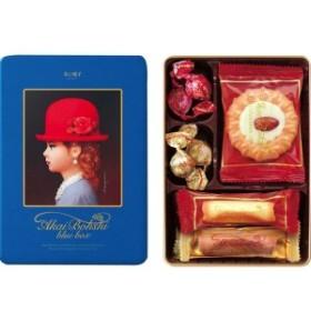 【内祝い おしゃれ お菓子 ギフト】赤い帽子 ブルー 16391<※【お歳暮 オシャレ 食品 景品 初節句 七五三 お返し おしゃれ 出産内祝い