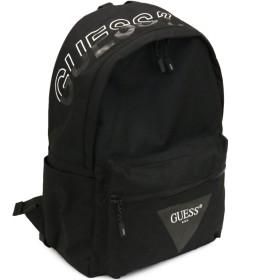 GUESS(ゲス) リュックサック デイバッグ ロゴ AJ3A4A29 ブラック カーキ メンズ レディース (ブラック)