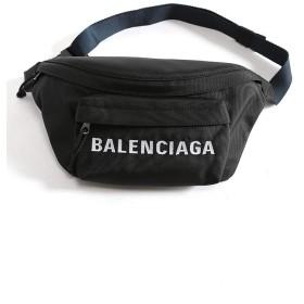 (バレンシアガ) BALENCIAGA ナイロン ロゴ刺繍 ベルトパック WHEEL [BC533009HPG1X]ブラック / - [並行輸入品]