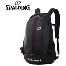 【SPALDING/スポルディング】○CAGER(ケイジャー)40-007SV シルバー バスケットボール用バッグ デイバッグ リュック【HH-99npc】