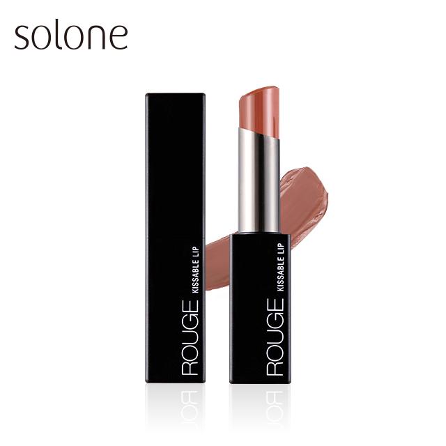 Solone 極潤緞光唇膏 #004紅玉烏龍 3.2g