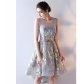 2色入♪結婚式 花嫁 二次会 パーティードレス  プリンセスライン ウエディングドレス ブライダル ワンピース 大きいサイズ 冠婚 ロング丈