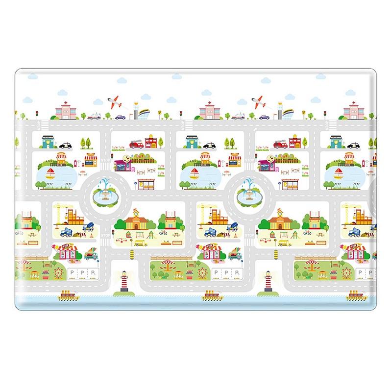 PVC 兒童遊戲毯-城市之旅