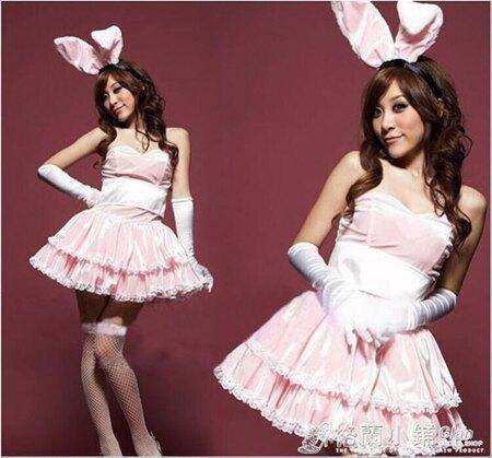 兔子裝兔裝演出服兔女裝誘惑兔女郎Party派對聖誕元旦兔裝錶服裝 格蘭小舖 母親節禮物