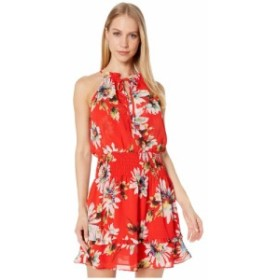 ミス ミー Miss Me レディース ワンピース ワンピース・ドレス floral print halter mini dress Red