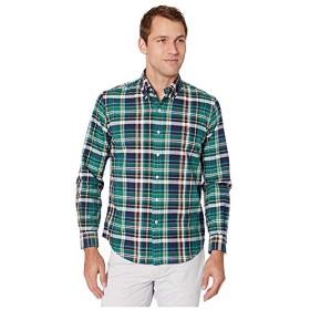 [Polo Ralph Lauren(ポロラルフローレン)] シャツ・ワイシャツ等 Long Sleeve Oxford - Classic Celtic Green/Sun Multi XL [並行輸入品]