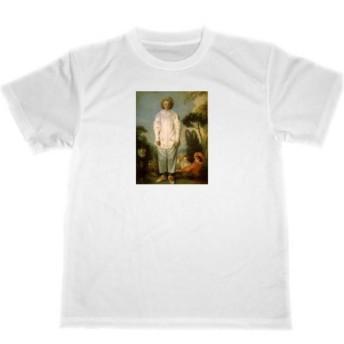 アントワーヌ・ヴァトー ピエロ ドライ Tシャツ ヴァトー 名画 絵画 Watteau Pierrot