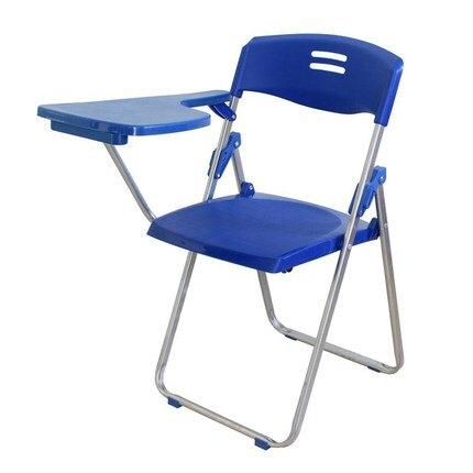 记者加厚办公椅学生培训椅带写字板折叠会议椅新闻椅子写字椅桌椅