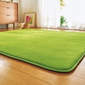 ベルーナインテリア ふわふわふっくらラグ<カーペット・絨毯><1.5畳・2畳・3畳・4畳> ベージュ ふっくらタイプ(厚み20mm)1.5畳